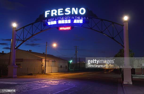 Entrée de l'hôtel de Fresno