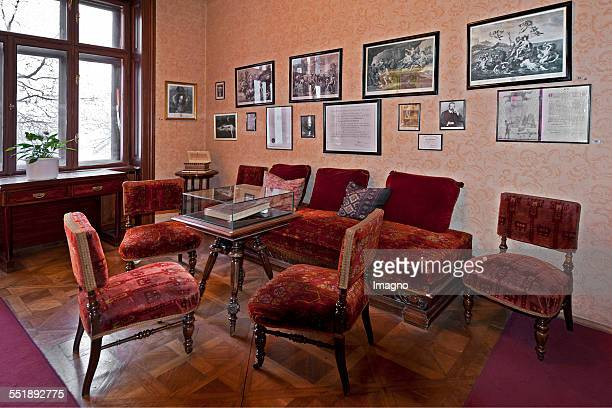 Freud room at the Sigmund Freud Museum in the Berggasse Vienna 2013 Photograph by Gerhard Trumler