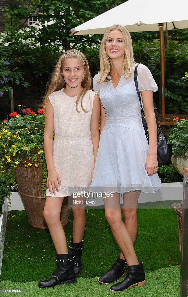 Freya Air Aspinall and Donna Air attend the Dogs Trust Honours 2013 at Home House on July 23, 2013 in London, England.