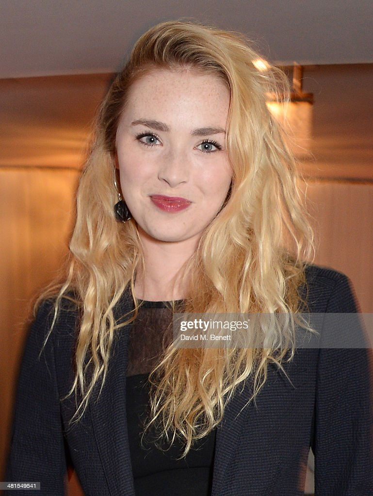 Freya Mavor arrives at the Jameson Empire Awards 2014 at The Grosvenor House Hotel on March 30, 2014 in London, England.