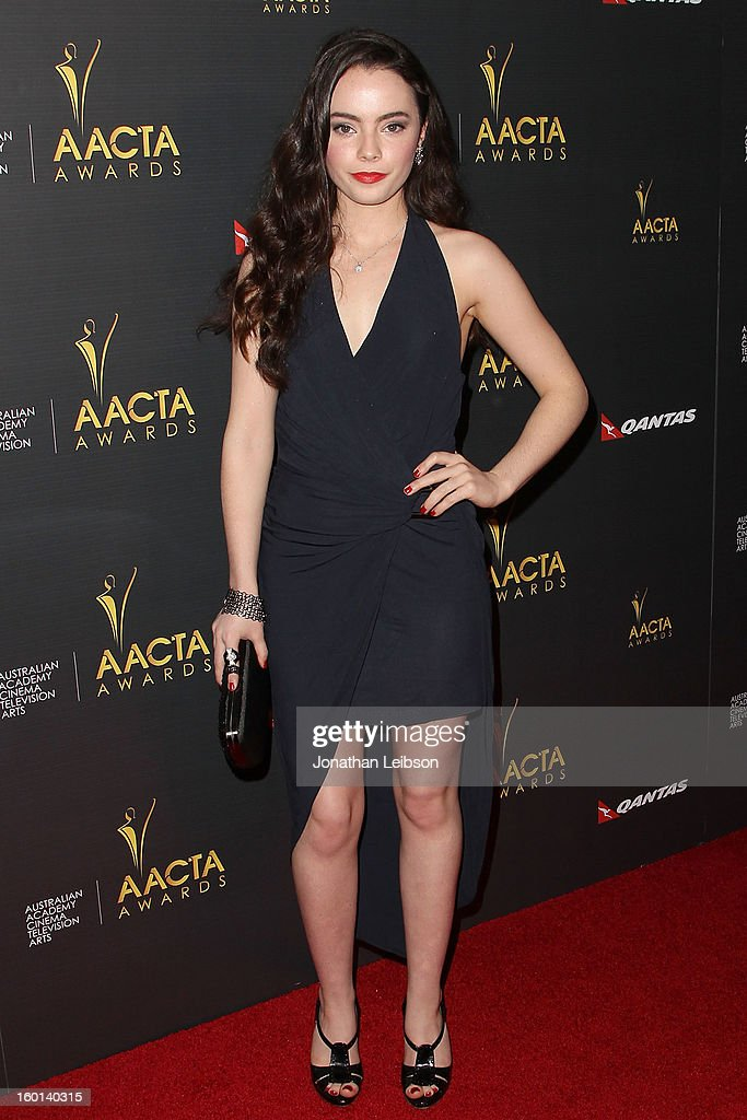 Freya Tingley attends the 2nd AACTA International Awards at Soho House on January 26, 2013 in West Hollywood, California.