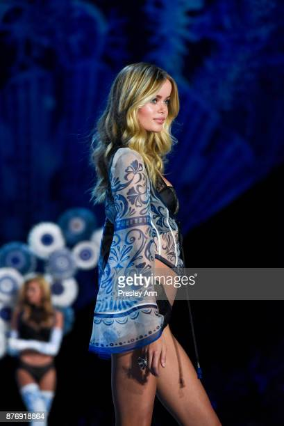 Frida Aasen attends 2017 Victoria's Secret Fashion Show In Shanghai Show at MercedesBenz Arena on November 20 2017 in Shanghai China