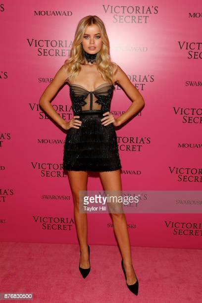 Frida Aasen attends the 2017 Victoria's Secret Fashion Show After Party on November 20 2017 in Shanghai China