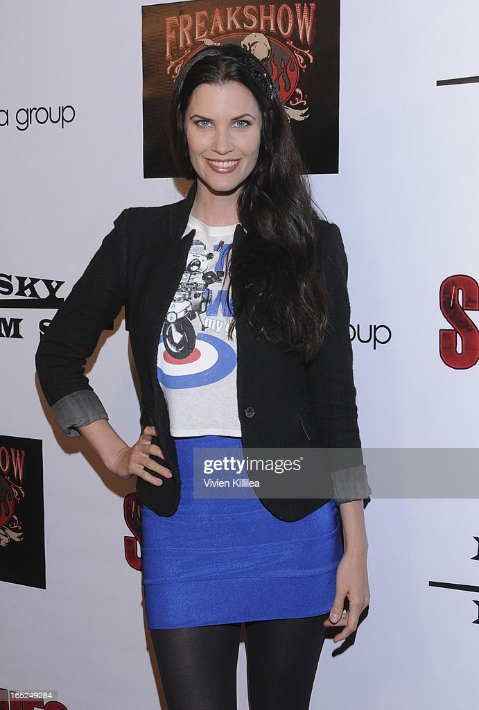 Frida Farrell attends 'Stitches' - Los Angeles Premiere at Cinespace on April 1, 2013 in Los Angeles, California.
