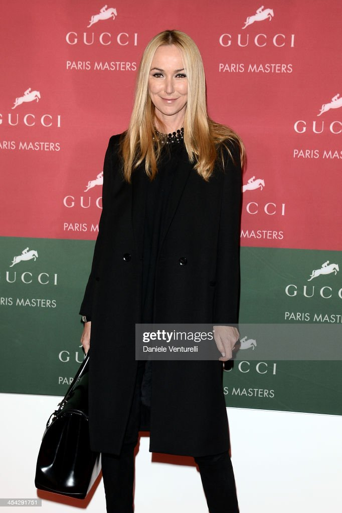 <a gi-track='captionPersonalityLinkClicked' href=/galleries/search?phrase=Frida+Giannini&family=editorial&specificpeople=559380 ng-click='$event.stopPropagation()'>Frida Giannini</a> attends day 4 of the Gucci Paris Masters 2013 at Paris Nord Villepinte on December 8, 2013 in Paris, France.