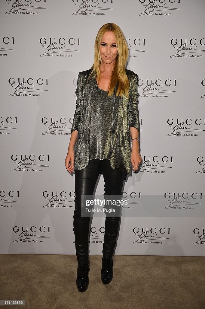 Frida Giannini attends 'Gucci Made to Measure Launch' on June 24, 2013 in Milan, Italy.
