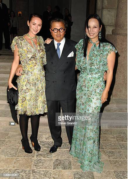 Frida Giannini Michael and Eva Chow during Gucci Spring 2006 Fashion Show to Benefit Children's Action Network and Westside Children's Center...