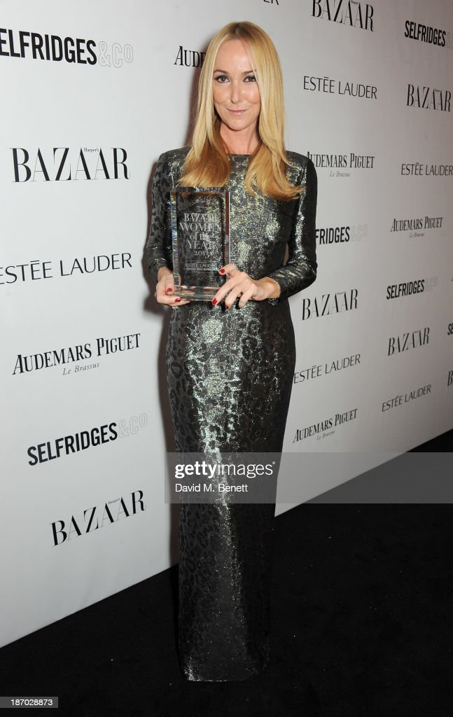 Frida Giannini, winner of the International Designer of the Year award, attends the Harper's Bazaar Women of the Year awards at Claridge's Hotel on November 5, 2013 in London, England.