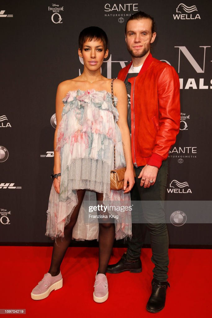 Frida Gold band attends the 'Michalsky Style Nite Arrivals - Mercesdes-Benz Fashion Week Autumn/Winter 2013/14' at Tempodrom on January 18, 2013 in Berlin, Germany.