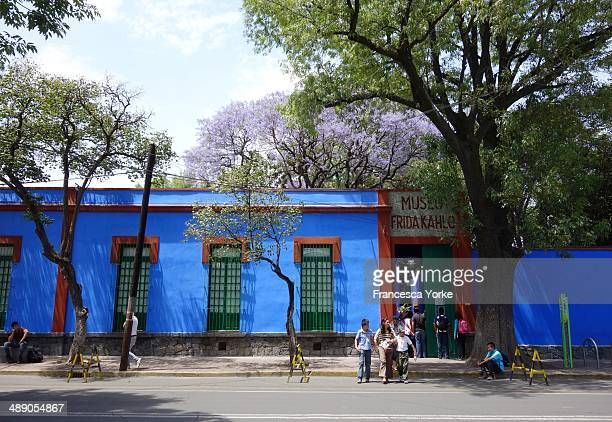 Frida Kahlo Museum The Blue House Mexico City