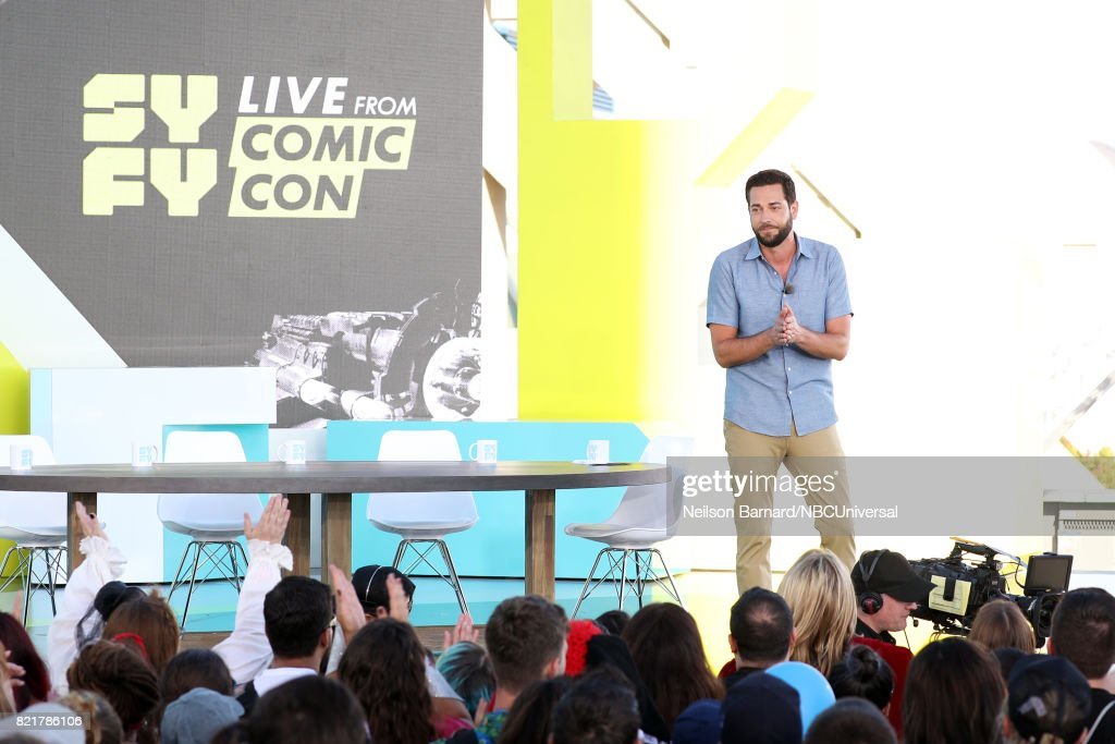 CON -- Friday, July 21st, 2017 -- Pictured: Zachary Levi --