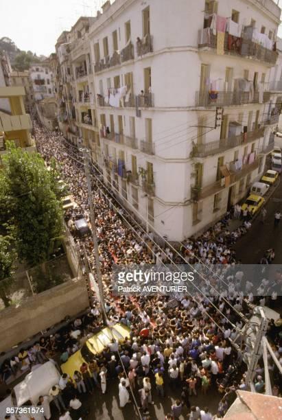 Friday prayer on October 14 1988 in Algiers Algeria