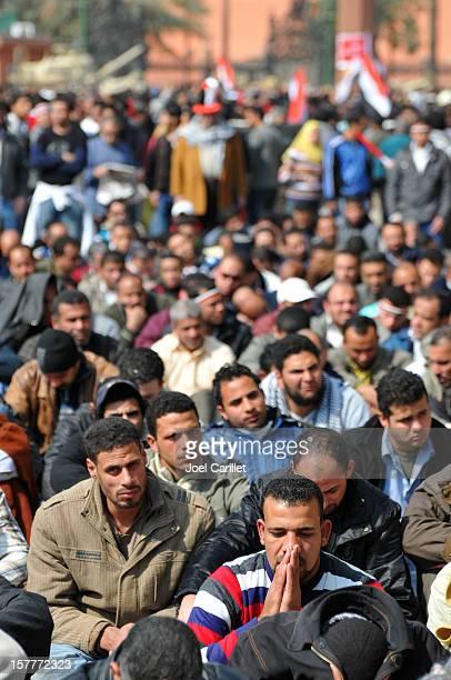 Friday prayers in Tahrir Sqaure