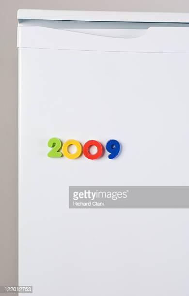 Fridge magnets spelling 2009