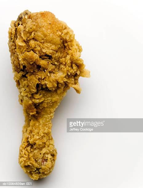 Fried chicken leg, close-up