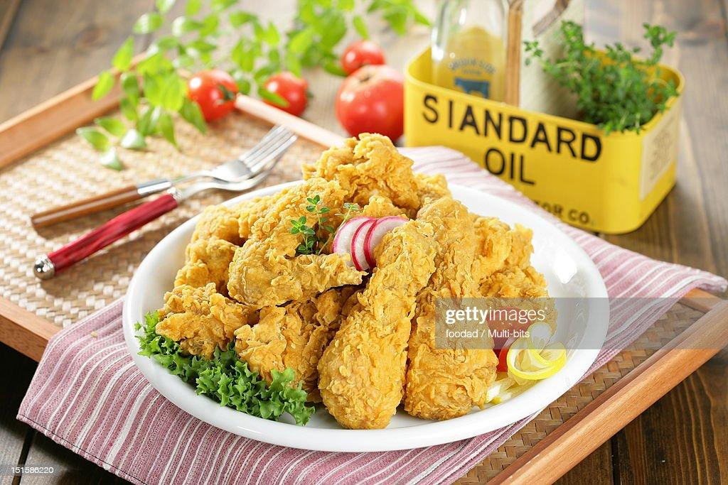 Fried Chicken : Stock Photo