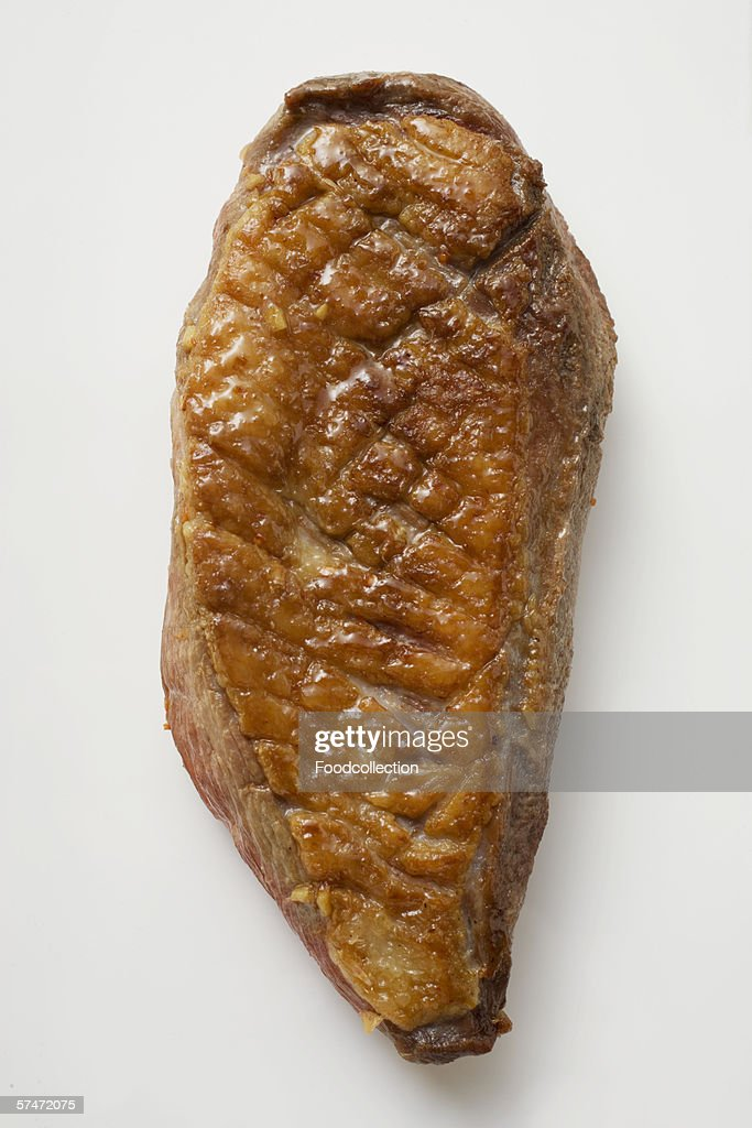 Fried duck breast : Stock Photo