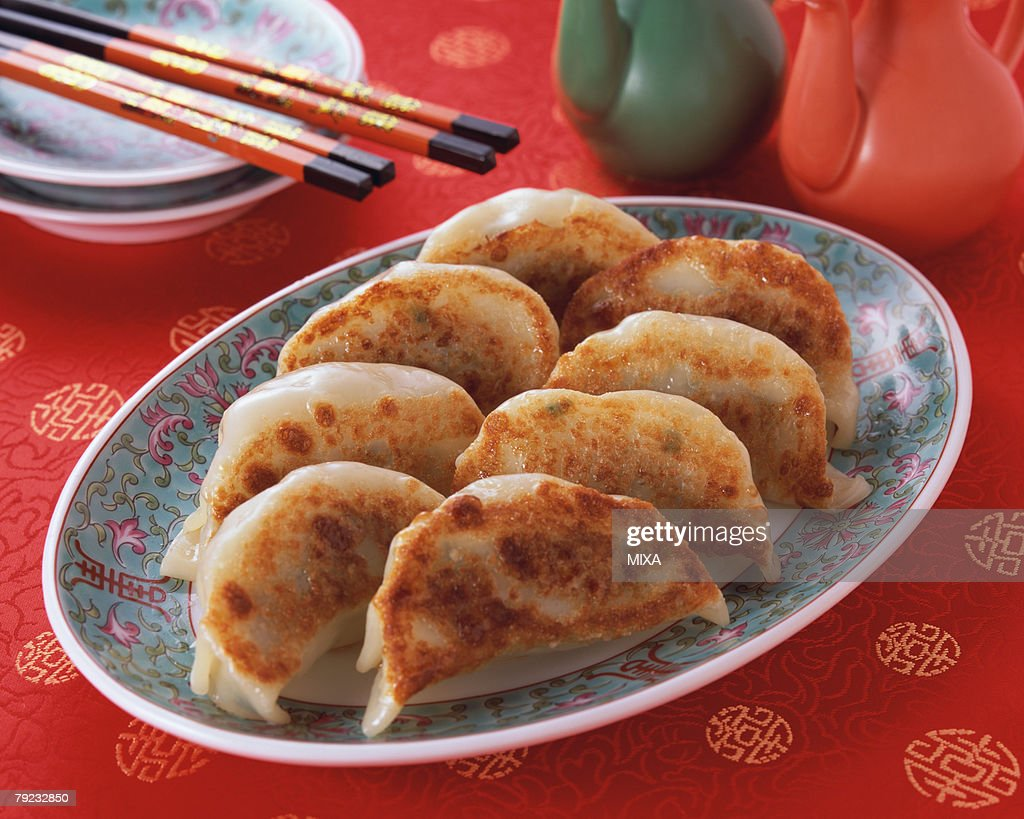 Fried Dumpling : Stock Photo