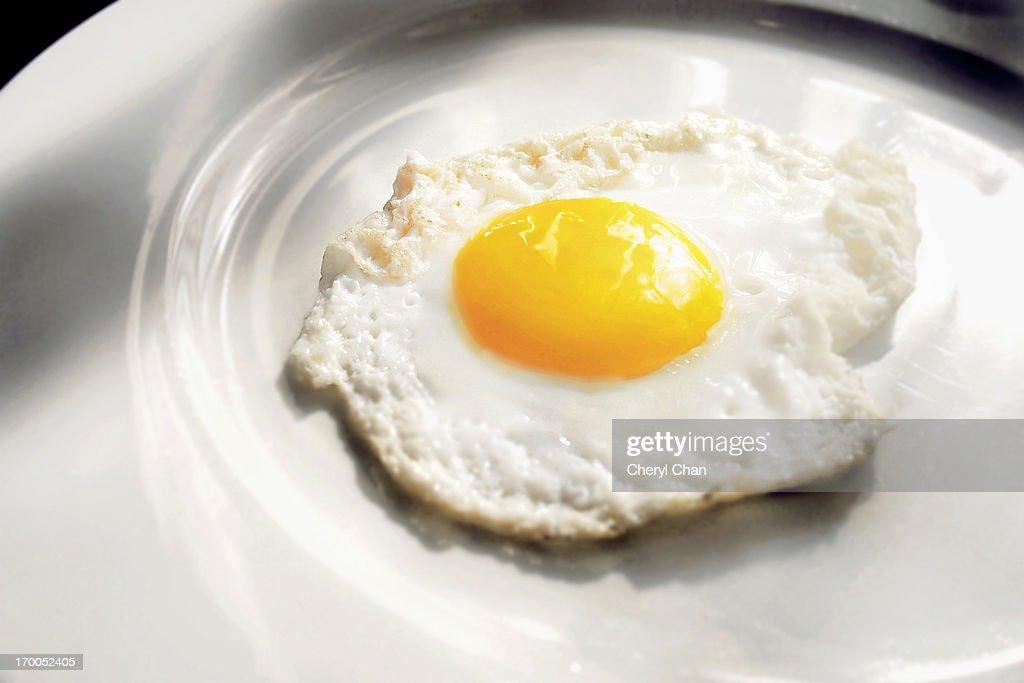 Fried Egg : Stock Photo