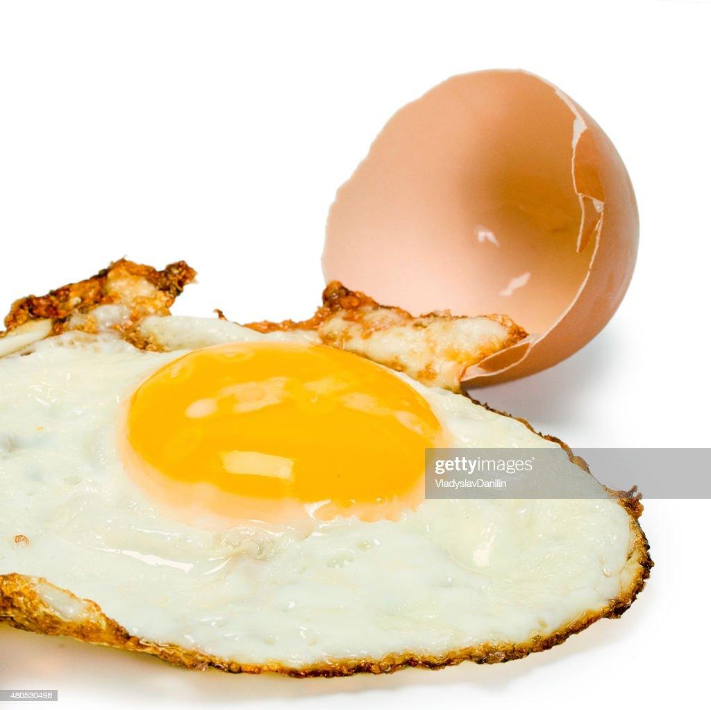 fried egg : Bildbanksbilder