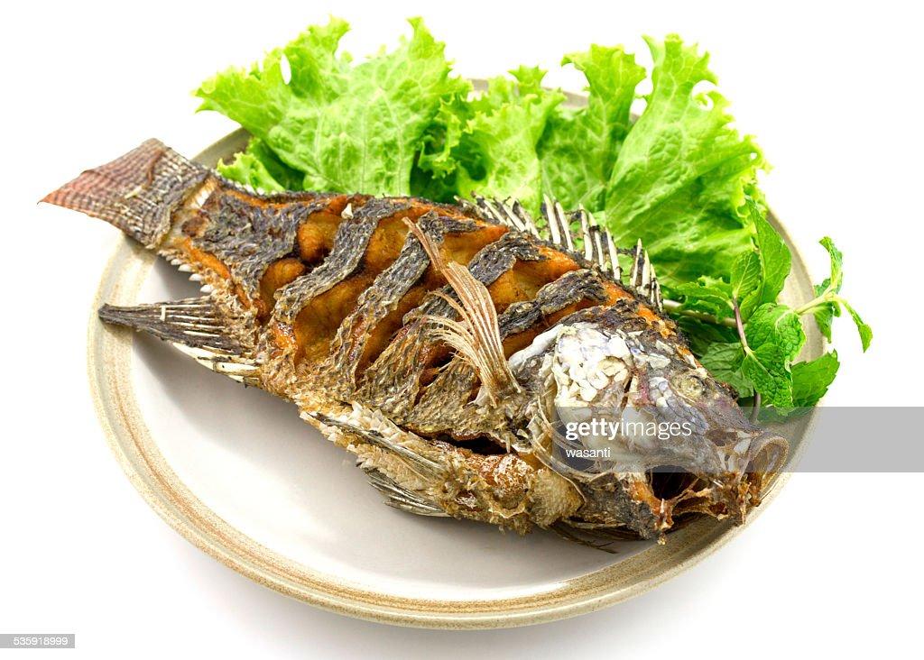 fried fish : Stock Photo
