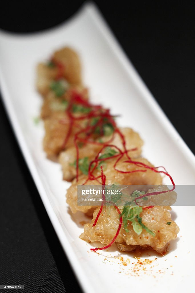 fried halibut : Stock Photo