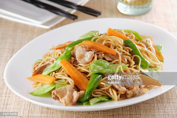 Fried Japanese noodles