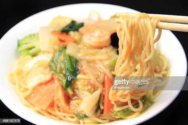 Fried Noodles with Mixed Vegetables