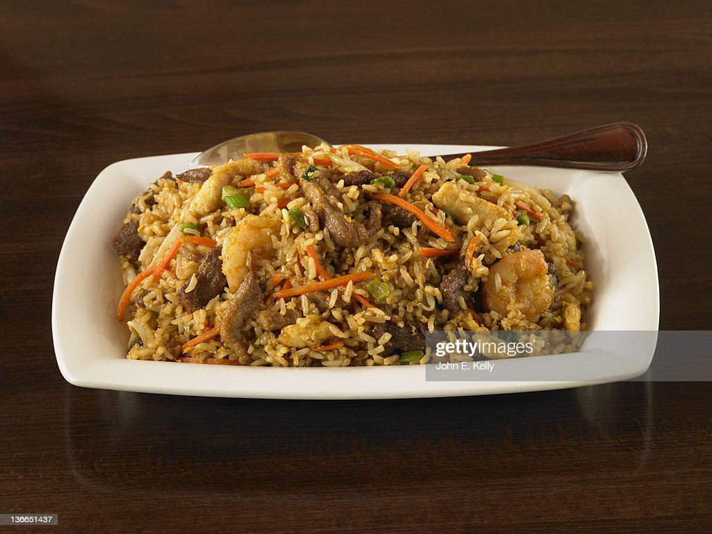 Fried Rice : Stock Photo