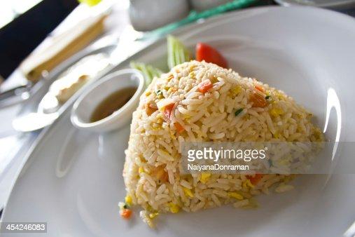 Fried rice : Stock Photo