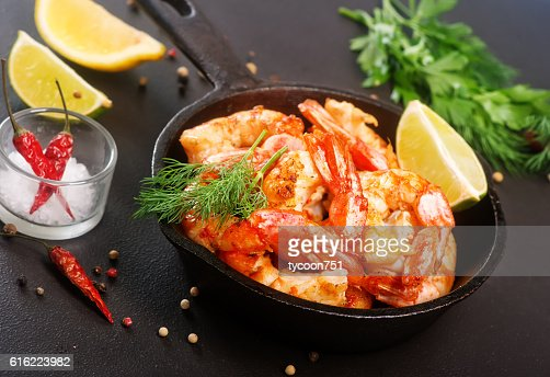 fried shrimps : Stockfoto
