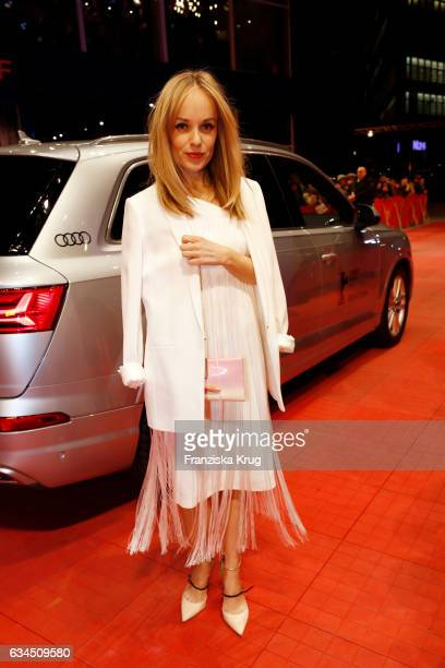 Friederike Kempter attends the 'Django' premiere during the 67th Berlinale International Film Festival Berlin at Berlinale Palace on February 9 2017...
