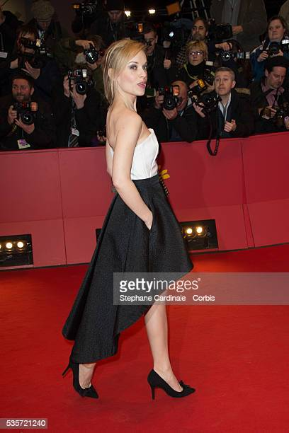 Friederike Kempter attends 'The Grand Budapest Hotel' Premiere and opening ceremony during the 64th Berlinale International Film Festival in Berlin...