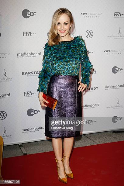 Friederike Kempter attends the Lola German Film Award 2013 Nominees Reception on April 13 2013 at 40seconds in Berlin Germany