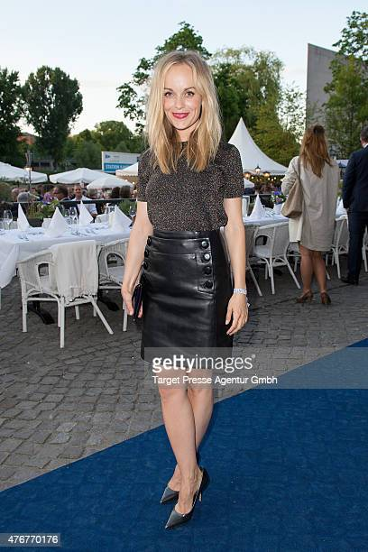 Friederike Kempter attends the producer party 2015 of the Alliance German Producer Cinema And Television on June 11 2015 in Berlin Germany