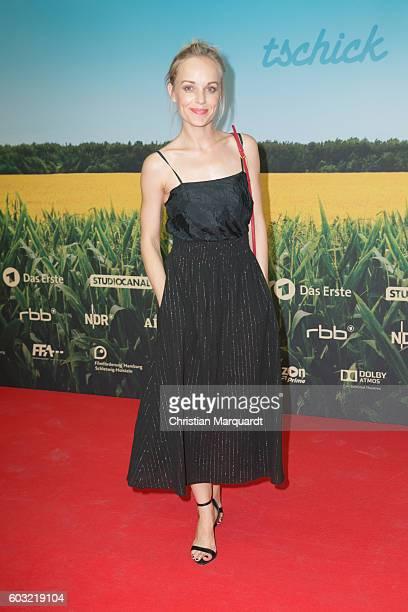 Friederike Kempter attends the 'TSCHICK' Premiere at Kino International on September 12 2016 in Berlin Germany