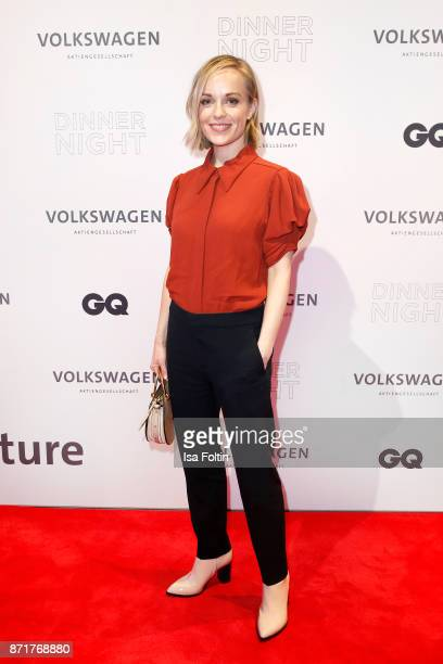 Friederike Kempter attends the Volkswagen Dinner Night prior to the GQ Men of the Year Award 2017 on November 8 2017 in Berlin Germany