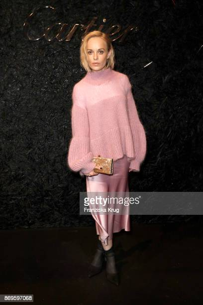 Friederike Kempter attends the When the Ordinary becomes Precious #CartierParty at Old Power Station on November 2 2017 in Berlin Germany