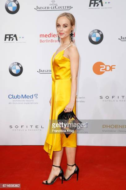 Friederike Kempter during the Lola German Film Award red carpet arrivals at Messe Berlin on April 28 2017 in Berlin Germany
