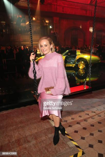 Friederike Kempter during the 'When the Ordinary becomes Precious #CartierParty Berlin ' at Old Power Station on November 2 2017 in Berlin Germany