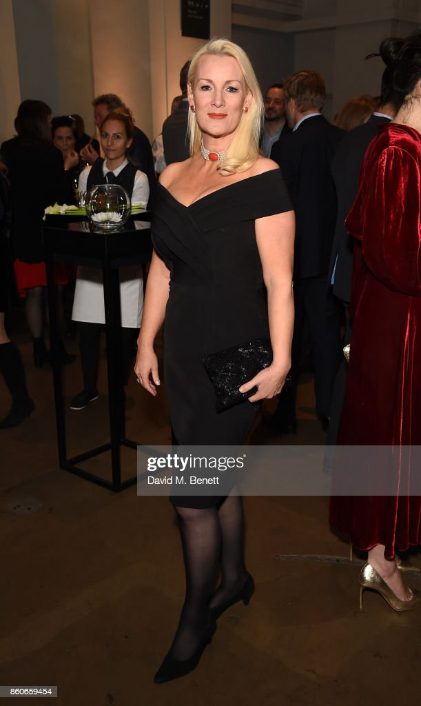 Friederike Krum attends the Montblanc de la Culture Arts Patronage Award for the work of the Genesis Foundation at The British Museum on October 12, 2017 in London, England.