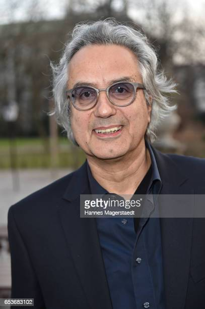Friedrich Ani during the NdF after work press cocktail at Parkcafe on March 15 2017 in Munich Germany