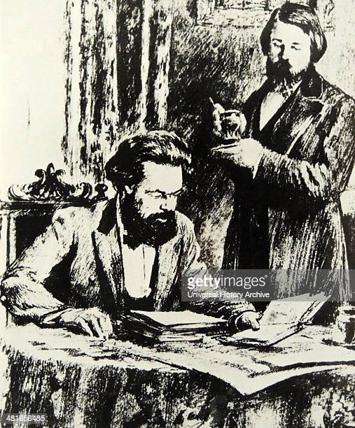 Friedrich Engels 1820 – 5 August 1895 was a German social scientist author political theorist with Karl Marx
