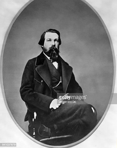 Friedrich Engels *2811182005081895Politiker Philosoph D in Manchester 1864