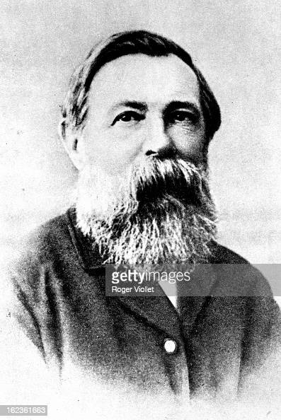 Friedrich Engels German social theorist circa 1870