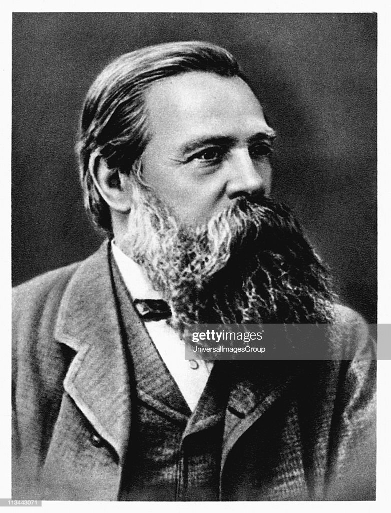 <a gi-track='captionPersonalityLinkClicked' href=/galleries/search?phrase=Friedrich+Engels&family=editorial&specificpeople=142606 ng-click='$event.stopPropagation()'>Friedrich Engels</a> (1820-95) in 1879. German socialist and collaborator and supporter of Karl Marx. Lived mainly in England from 1842. Cooperated on the Communist Manifesto (1848).