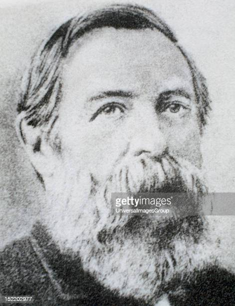 ENGELS Friedrich German social scientist author political theorist philosopher and father of communist theory alongside Karl Marx
