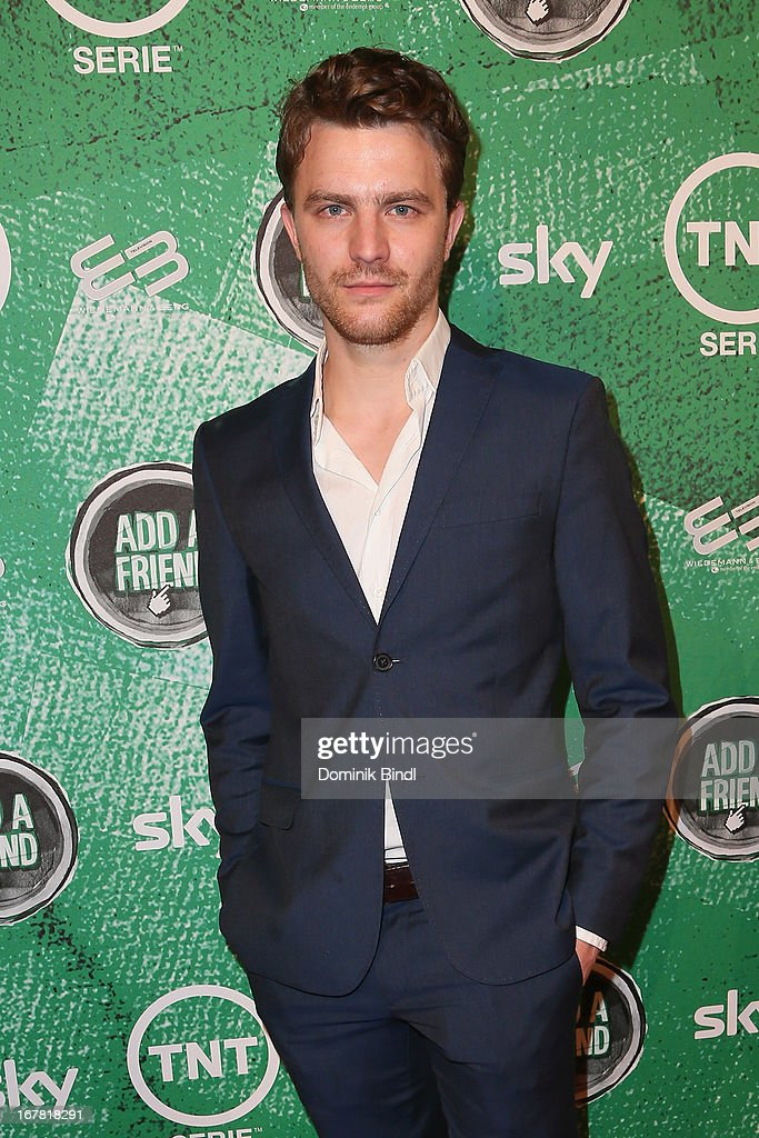 Friedrich Muecke attends 'Add a Friend' Preview Event of TNT Serie at Bayerischer Hof on April 30, 2013 in Munich, Germany. The second season series premieres on May 6 (every Monday at 8:15 pm on TNT Serie).