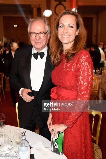 Friedrich von Thun and his daughter Gioia von Thun during the ROMY award at Hofburg Vienna on April 22 2017 in Vienna Austria