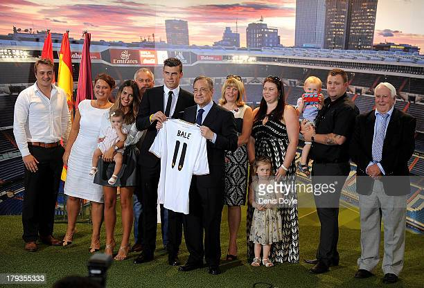 Friend Ellis Randall mother in law Suzanne McMurray girlfriend Emma Rhys Jones daughter Alba Bale father Frank Bale Gareth Bale Real Madrid president...